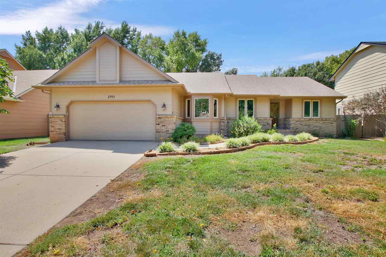 Move-in-ready to this nicely updated 3 bedroom, 3 bath home in Maize school district.