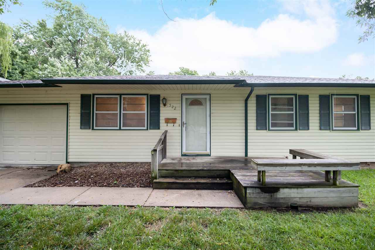 Welcome Home to 522 N. Dexter. This 3 bedroom, 1 bath, ranch style home is situated on a wonderful s