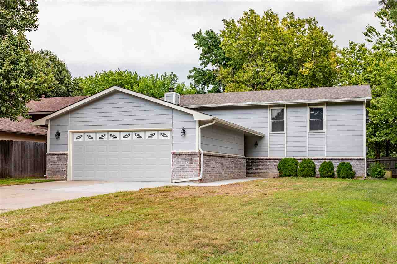 5 bedroom 3 bathroom bi-level home in the Maize School district updated and move-in ready! Freshly p