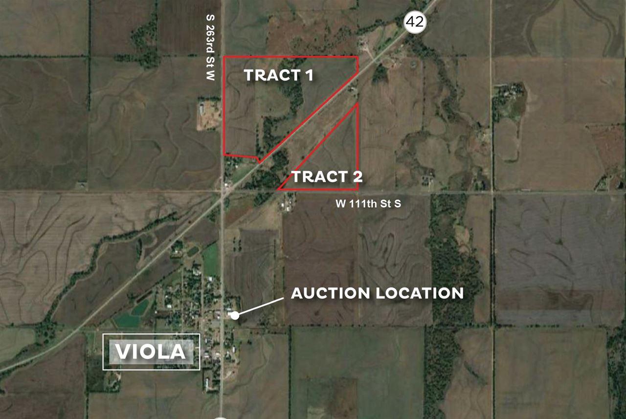 For Sale: SE of  K-42 Hwy and N of 111th St S, Viola KS