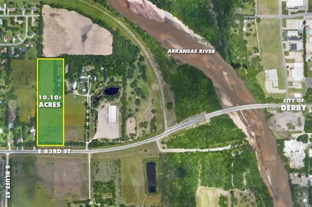 For Sale: 10.10 +/- Acres  83rd St. S., Derby KS