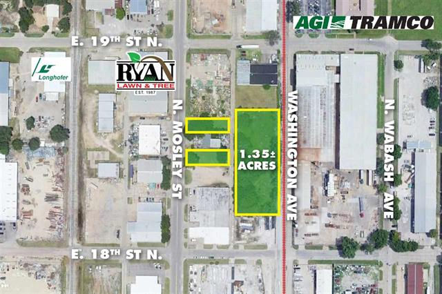 For Sale: 1.35 +/- Acres  19th St. N. & Washington Ave, Wichita KS