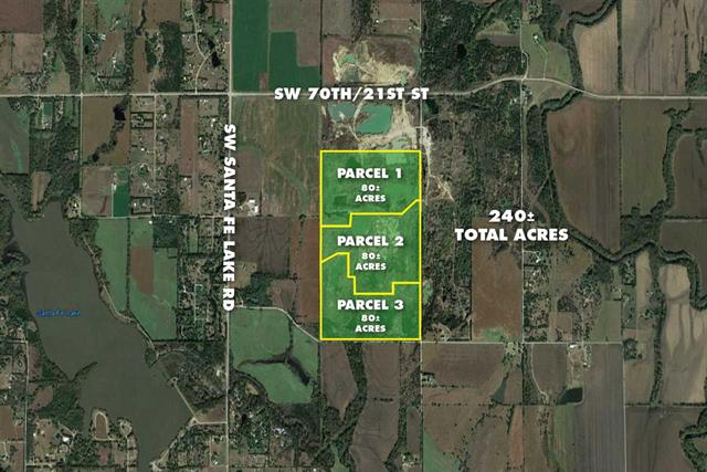 For Sale: (3) 80 +/- Acre  Parcels, Augusta KS