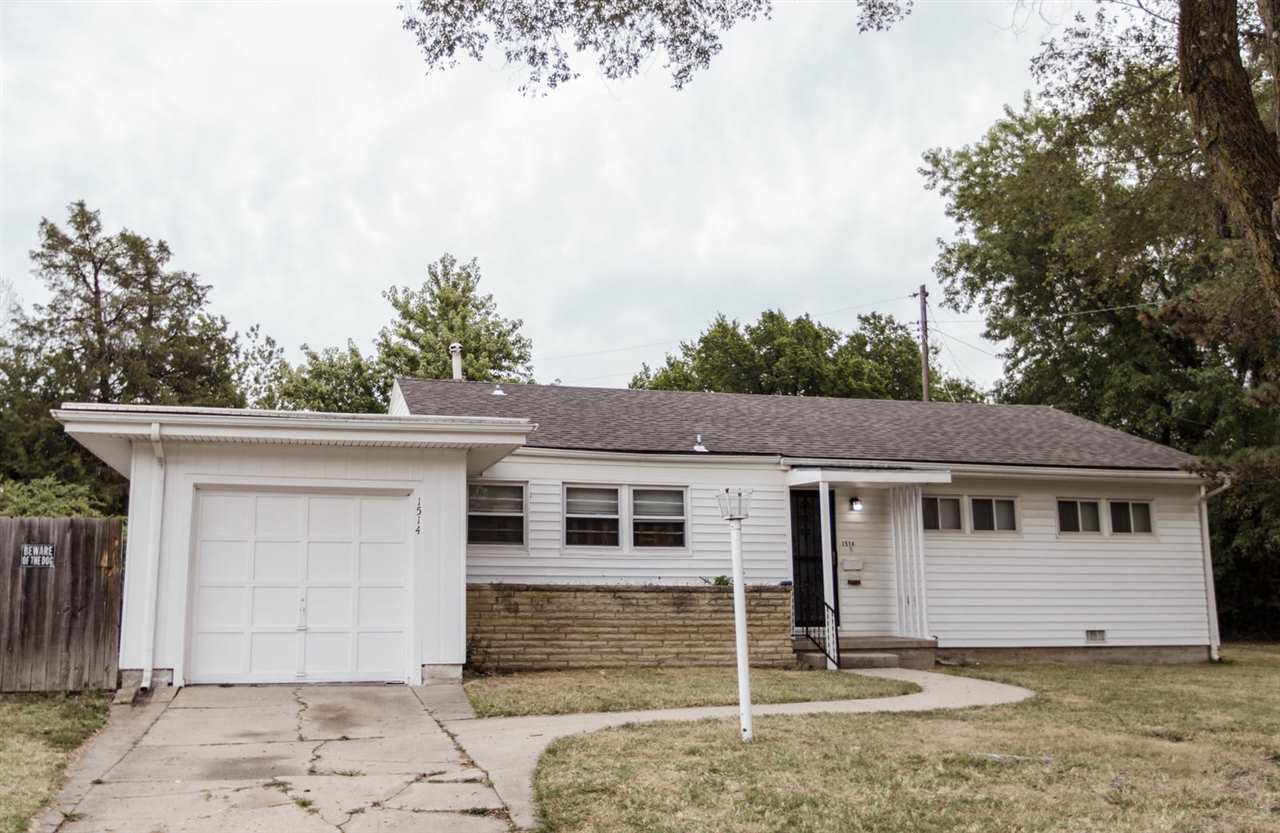 Welcome home to this clean well cared for home. Freshly refinished original hardwood floors, that lo