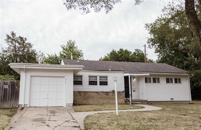 For Sale: 1514 N YALE BLVD, Wichita KS
