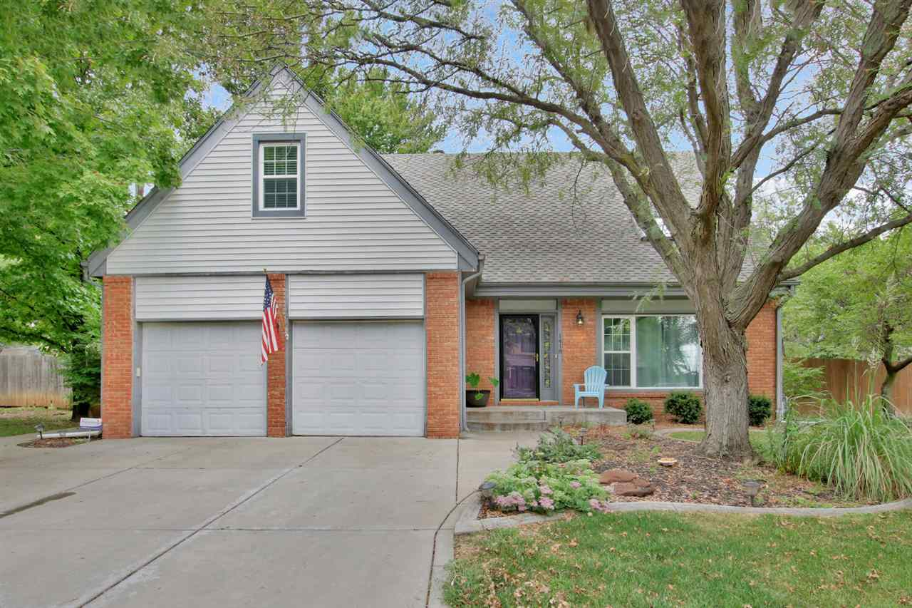 Welcome to this beautiful two-story home located in the Tanglewood Addition! This home offers great