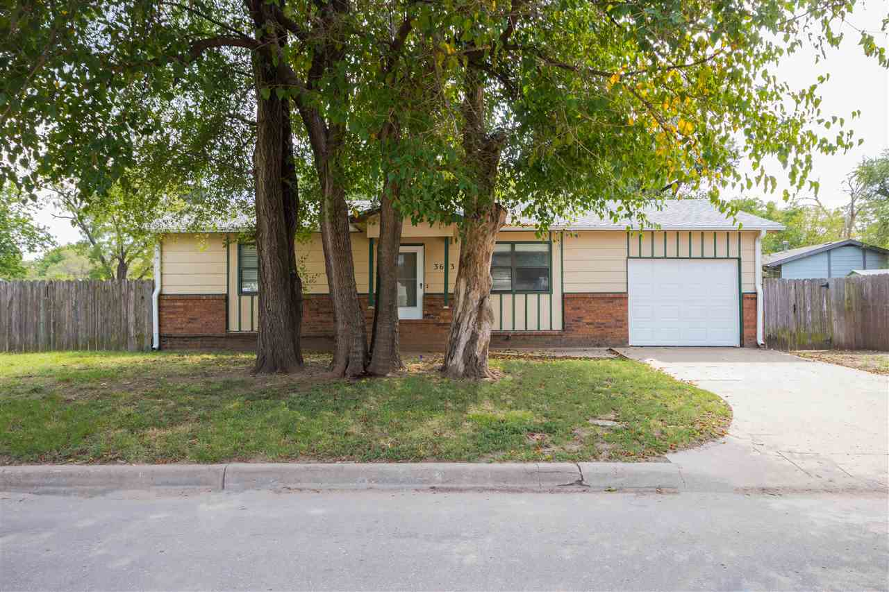 Affordability at it's finest and a rare find in west Wichita. This 1980's build is perfectly designe