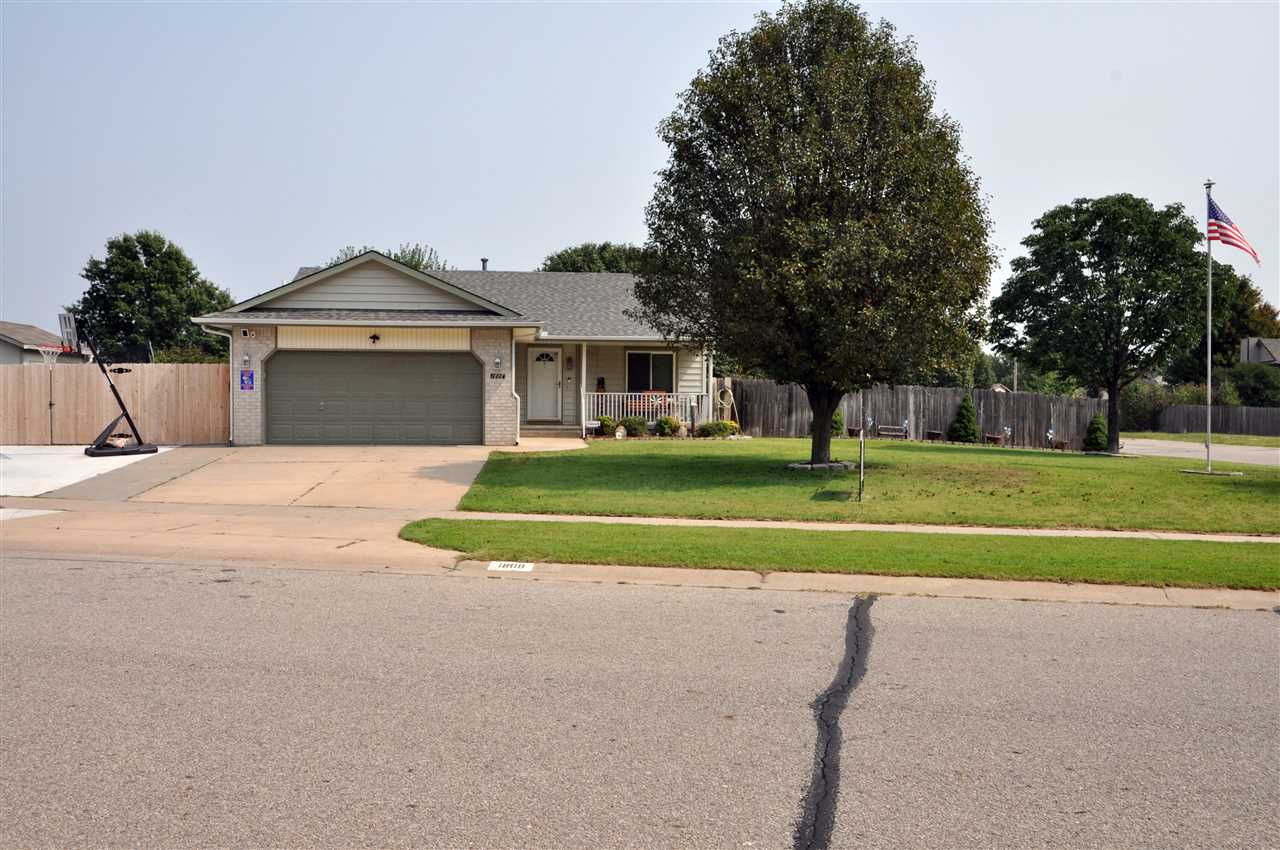 Come see this beautiful corner lot, 3 bed 3 bath ranch home with an above ground pool in the Goddard