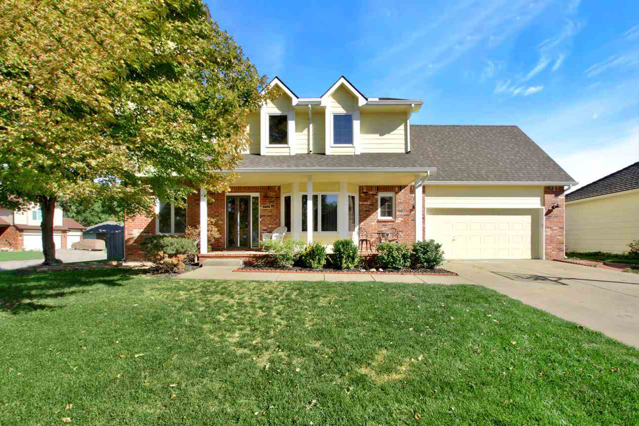 Beautiful 2 story home in a very desirable neighborhood. Huge corner lot, fenced backyard and an awe