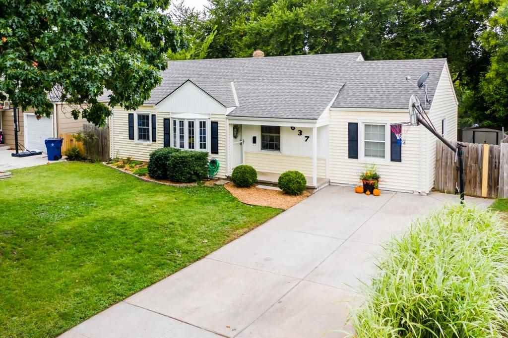 Such a charmer!  This cute four bedroom, one bath home is now available.  Hardwood floors, split bed