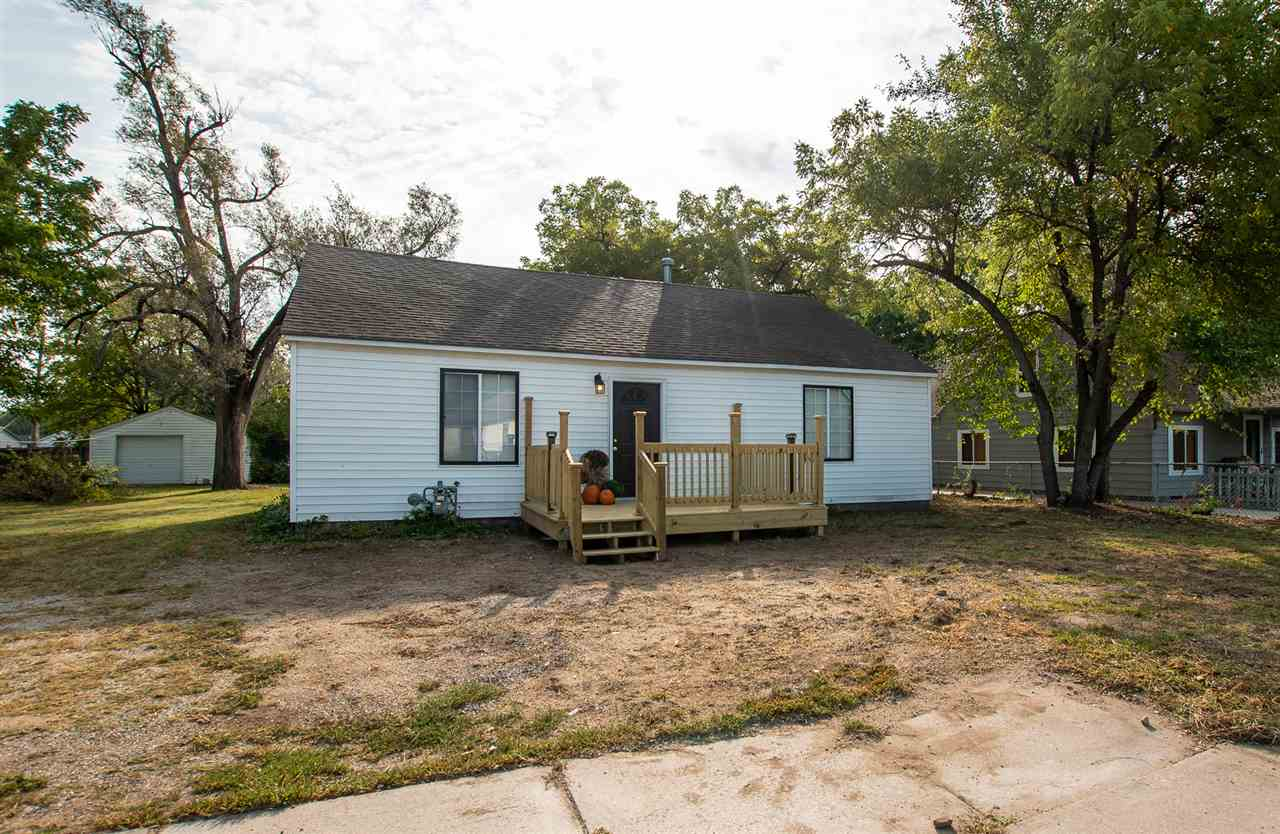 Updated Bath and Kitchen, large rooms, 2 large sheds, new front deck.