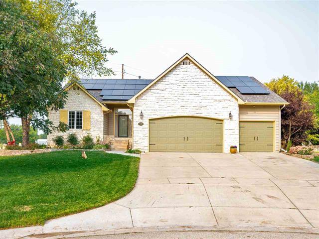 For Sale: 1345 N HICKORY CREEK CT, Wichita KS