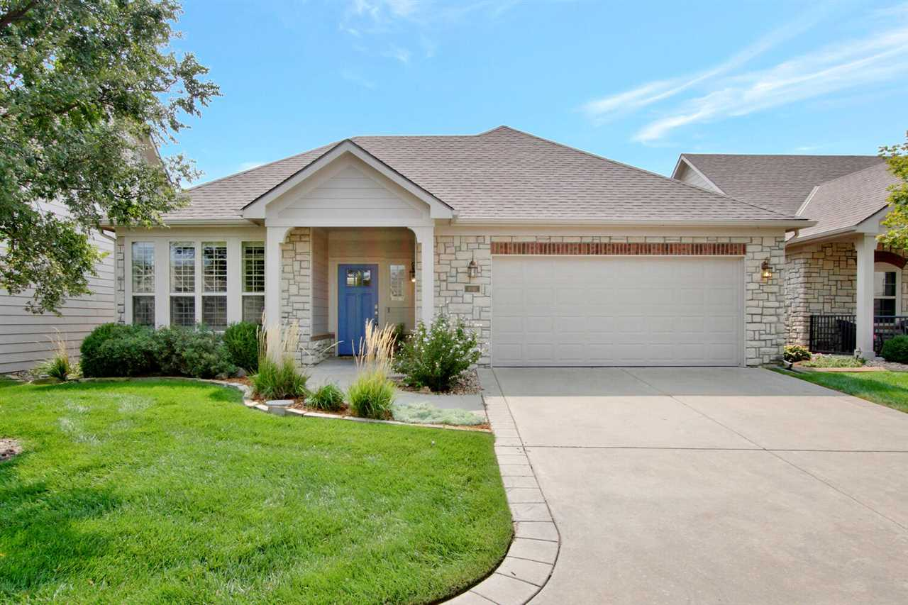 Total low maintenance patio home, zero entry and all on one level.  This beautiful home is located o