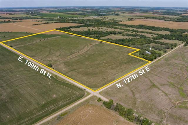 For Sale: NW/c of  109th St N and 127th St E – Tract 2, Lincoln KS