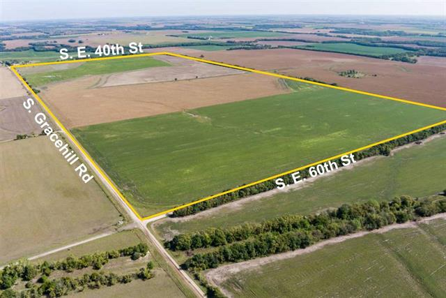 For Sale: NE/c of  S Grace Hill Rd and SE 60th St – Tract 6, Richland KS