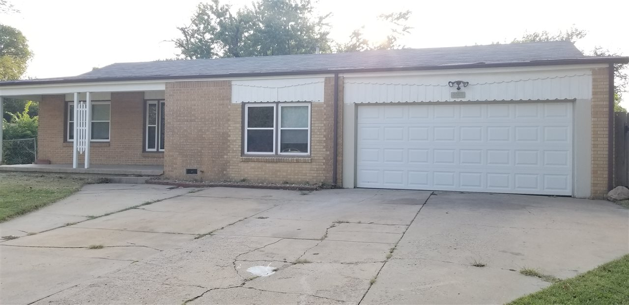 Great for first time home buyer or as an investment.  4 bedrooms, 1 bath, 2 car garage, full brick home on a corner lot.  Brand new roof just replace on July 2nd, 2019