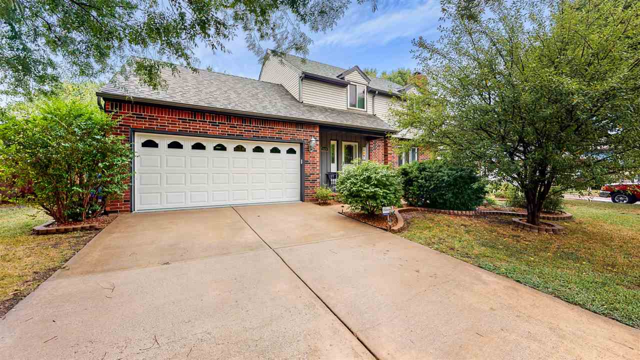 Charming 2 story home in the desirable Goddard School District featuring 3 bedrooms and 2.5 baths. E