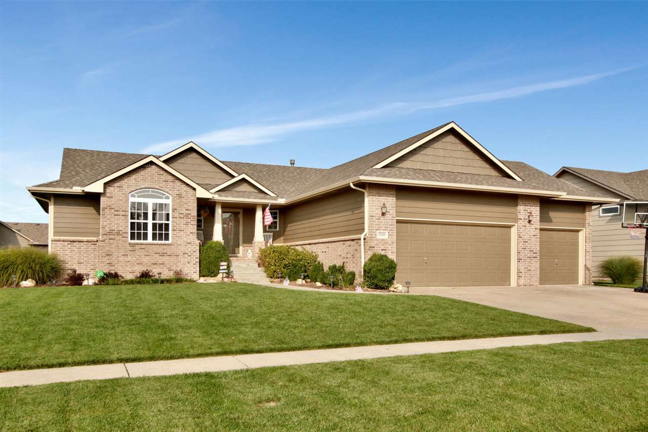 Welcome home! One owner 5 BR, 3 BA split bedroom ranch, nestled in desirable Chestnut Ridge, is move