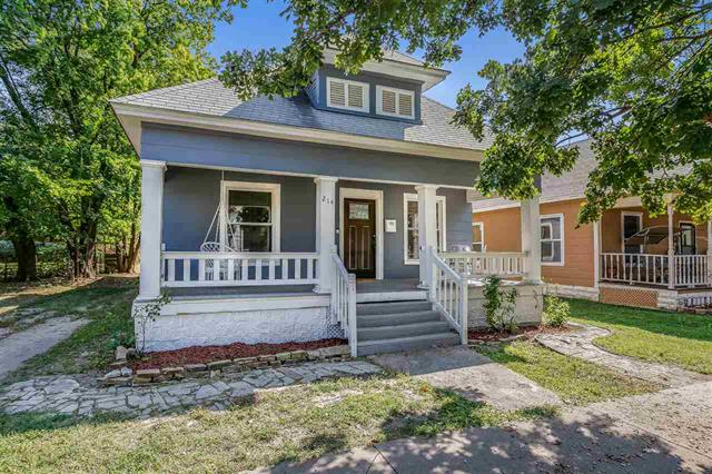 For Sale: 214 N Poplar Ave, Wichita KS