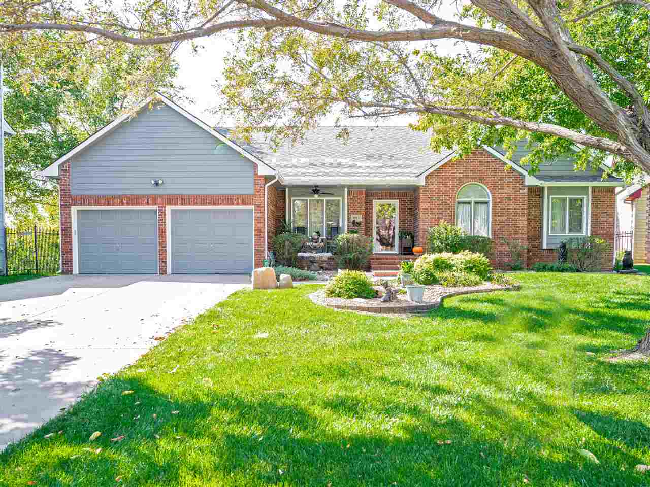 This one owner lake front home in the Goddard school district is a MUST SEE to appreciate! The owner