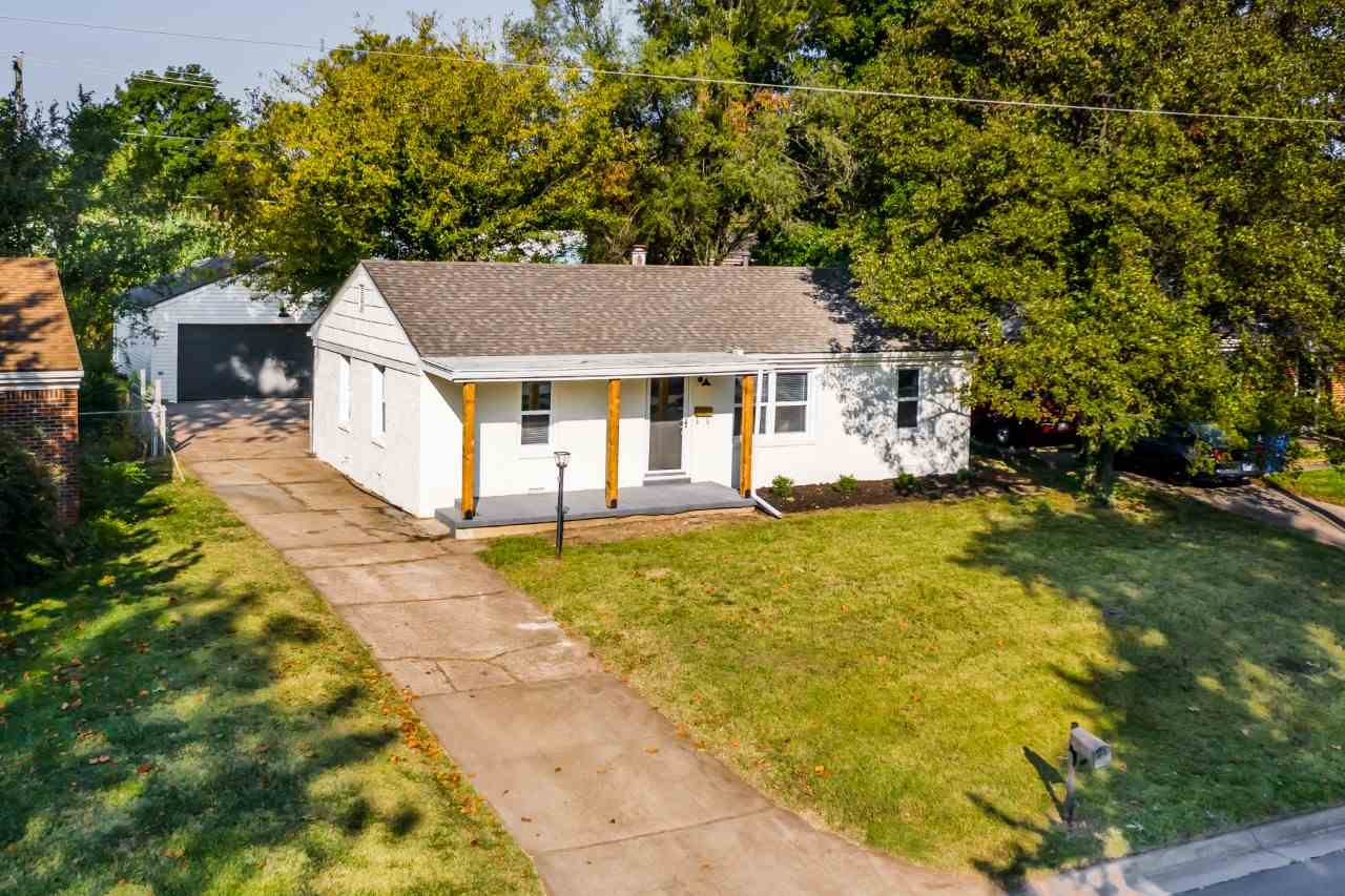 Beautifully remodeled full brick ranch style home in the heart of Derby. Many new updates and finish