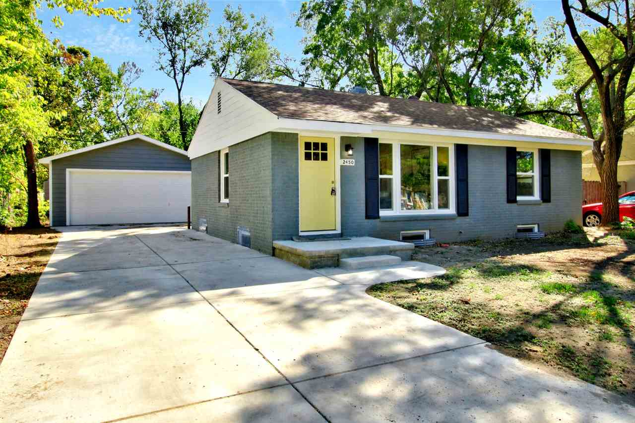 Totally remodeled adorable 3 bedroom 2 bath move-in ready home! Almost everything about this home is new! New two car garage and driveway, new AC unit, new windows, new water heater, and newly finished hardwood floors throughout! The kitchen features new cabinets, new butcher block countertops, and brand new stainless appliances! Both bathrooms have been totally renovated as well! Downstairs has a rec room with an additional conforming bedroom and gorgeous bathroom with a walk-in shower. New sod will be added to front yard. Great location near Riverside and the 21st and Amidon area! Don't miss out on this one!