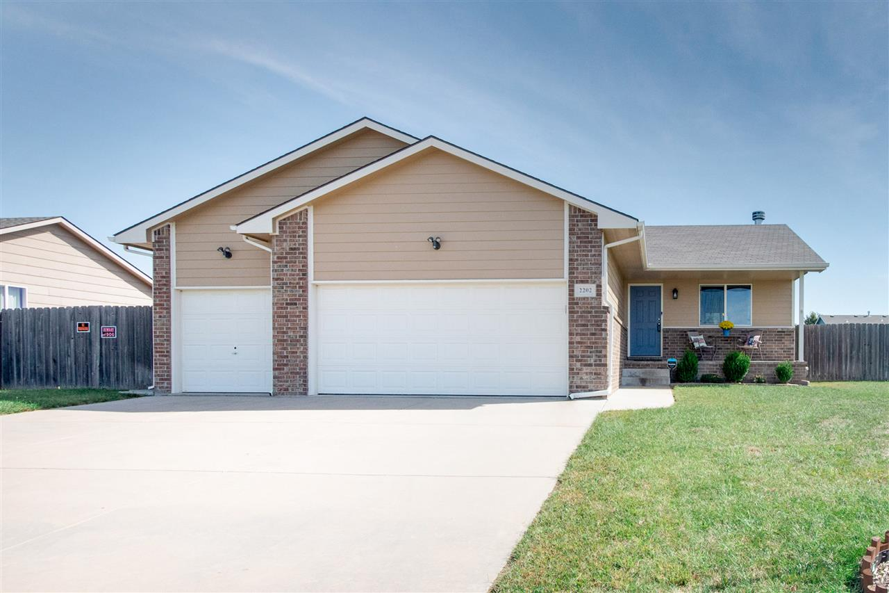 Welcome home to this 3 bedroom, 2 bath home in the Goddard school district! As you pull up to this h