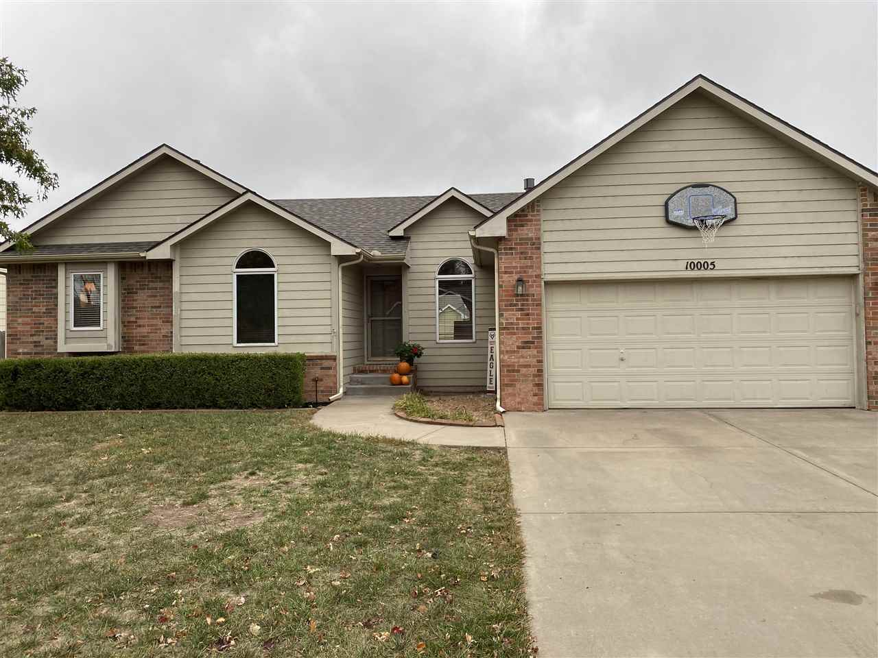 Welcome to your new home! This beautiful, well-maintained home in the Maize School District has everything you need: 3 bedrooms on the main level with one large bedroom in the basement. An oversized master bedroom suite with a large walk-in closet and bathroom with whirlpool tub. The kitchen has plenty of storage, as well as main floor laundry and pantry! The basement has a gorgeous finished bathroom, large entertainment room and a craft/storage room. BRAND NEW ROOF INSTALLED OCT 2020! This home is located in a great neighborhood with no special taxes and close to New Market Square for easy access to restaurants and shopping!