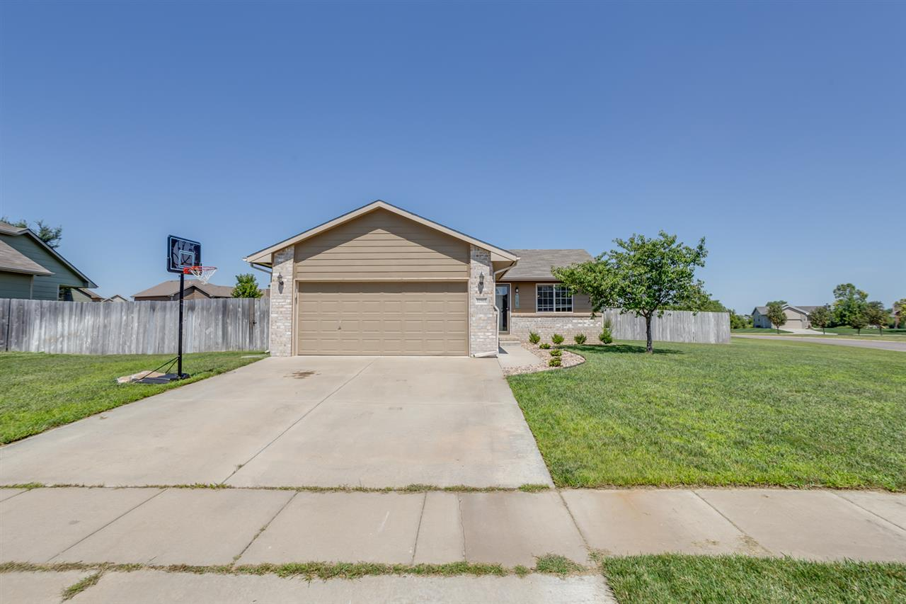 Come see this recently remodeled home sitting on over 1/3 of an acre in Goddard school district. Hom