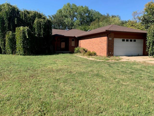 Come check out this 3BR 3.5 bath ranch home in the Womers subdivision.The living room is huge with a