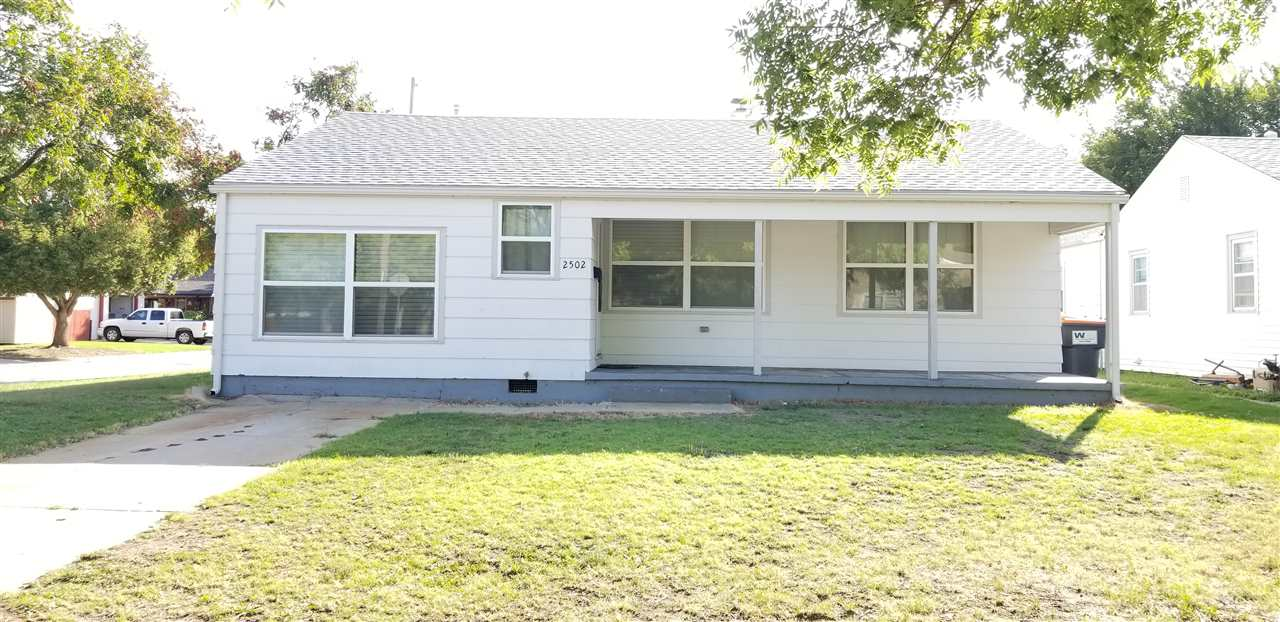 Great as an investment property or as a starter home with 3 bedrooms, 1 bath, fully fenced-in yard on a corner lot.  Motivated seller.  Bring all offers.