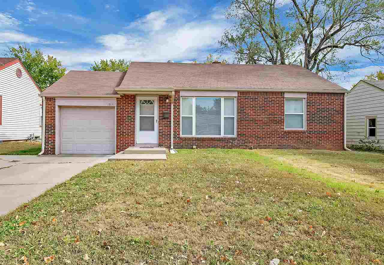 Very well maintained home near WSU! All brick, clean two bedroom home.