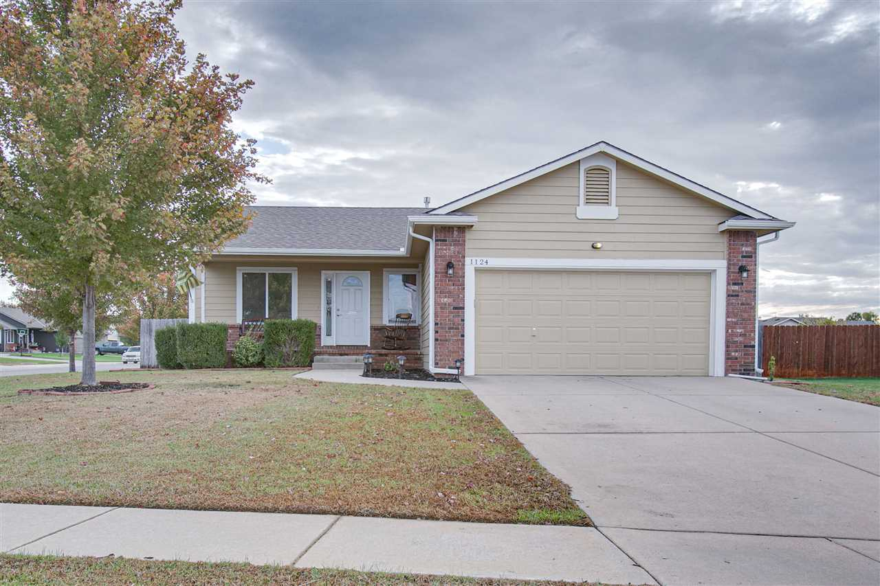Outstanding ranch style home located in the heart of Derby.  Located just minutes from the water par