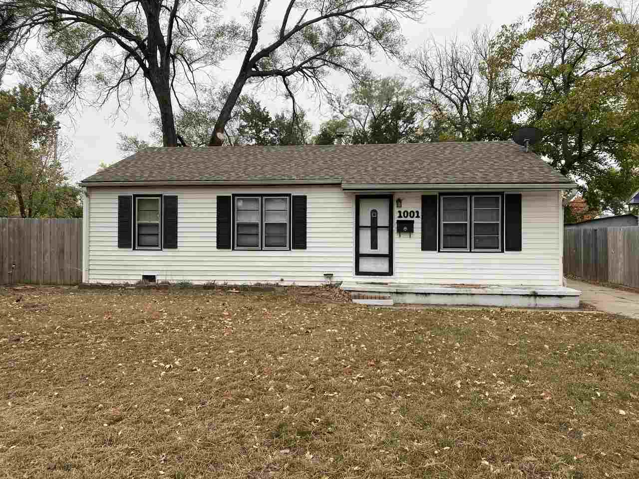 Clean, 3 Bedroom, 1 Bath Ranch property in South Wichita. Lots of new in this home! Enter through th