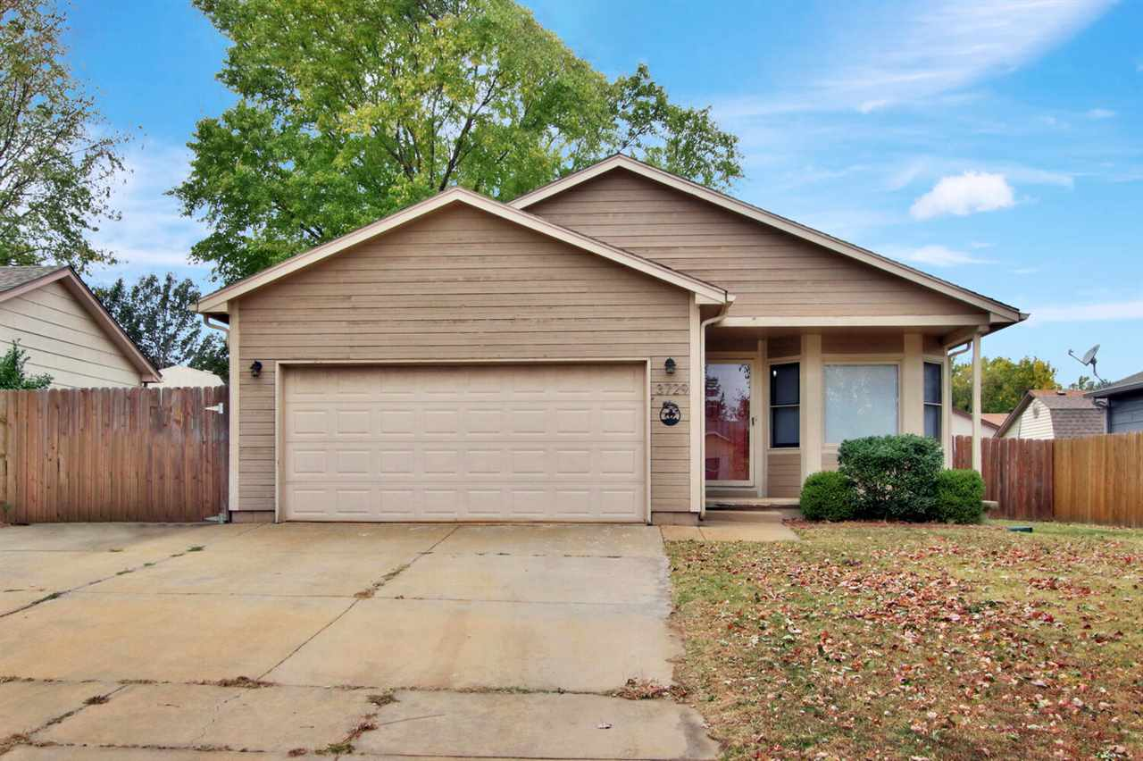 3 bed 2 bath home located in the Haysville school district.  Home features many updates through out