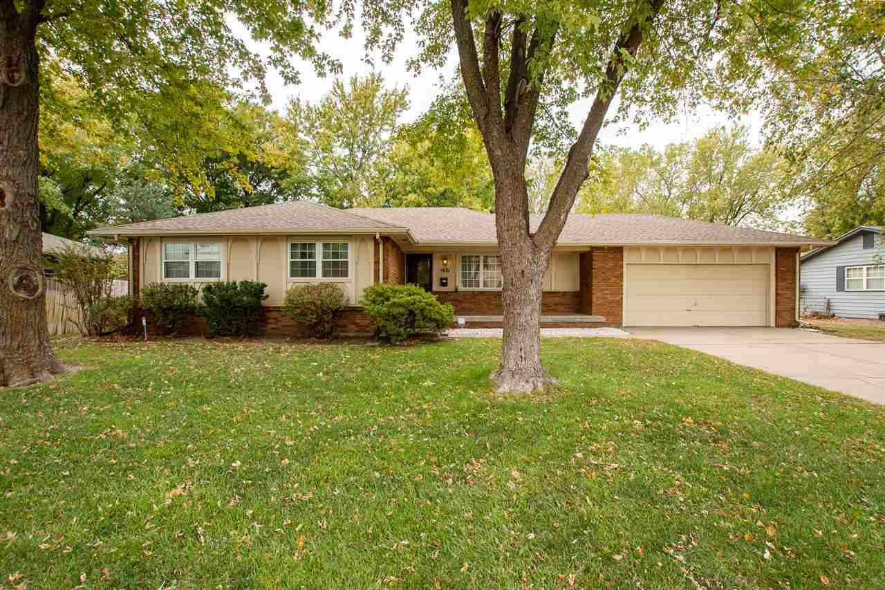Location location location!  So close to all the amenities of West Wichita but nestled away in a qui