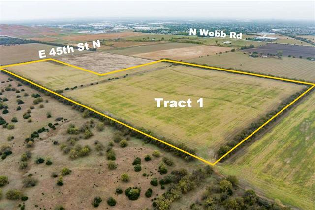 For Sale: W & N of E 45th St N and Greenwich Rd – Tract 1, Bel Aire KS