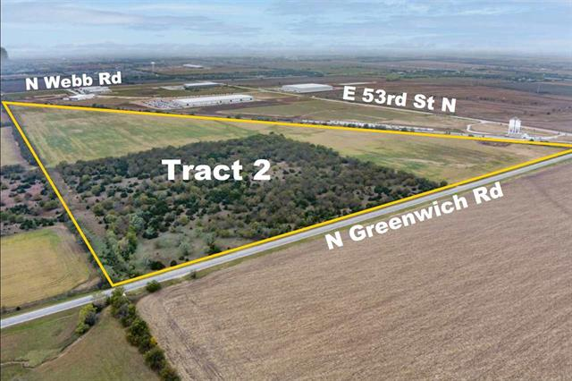 For Sale: S & W of E 53rd St N and Greenwich Rd – Tract 2, Bel Aire KS