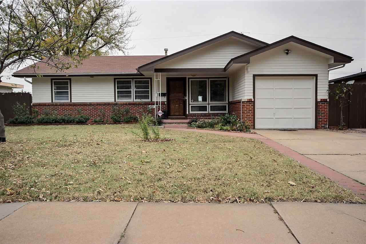 Welcome home to this cozy three bedroom, two bathroom home with full basement in southwest Wichita.