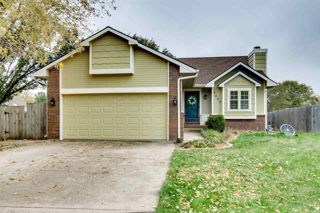 Picture perfect three bedroom, two bath home updated with on-trend colors and materials.  This crisp