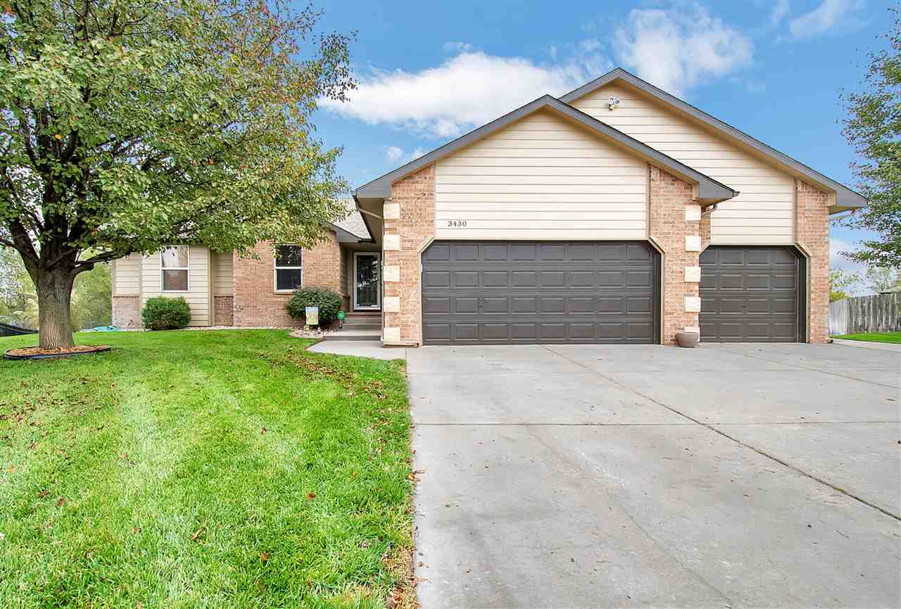 Check out this gorgeous move in ready home in the highly sought after Maize school district! Well ma