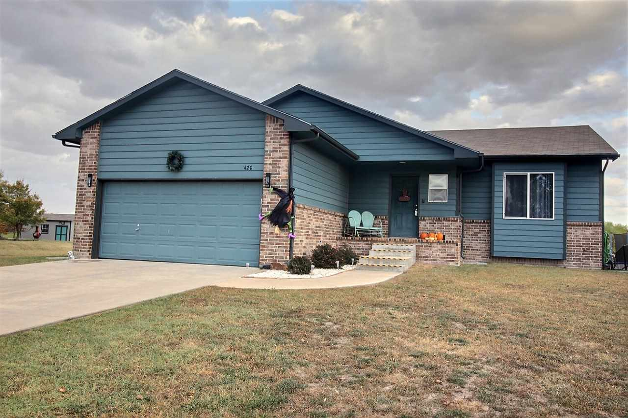 Wonderful Ranch style 5Bdrm 3Bath home in Valley Center's desirable Prairie Lakes Addition. You'll b