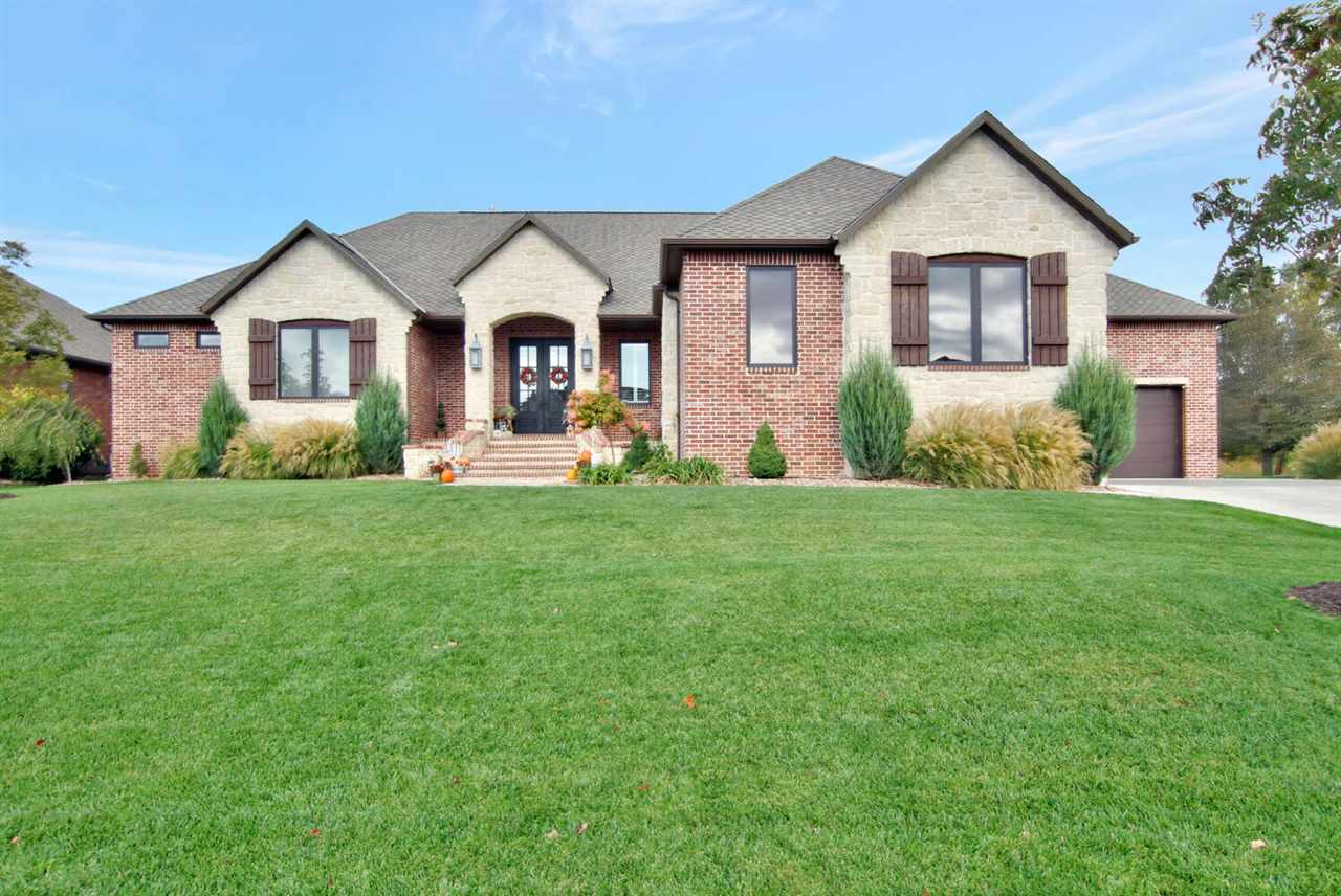 WOW!!! This is the one EVERYONE has been waiting for! Perfect 10! Custom Built Ranch home on a priva