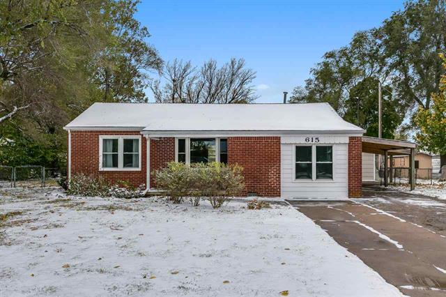 For Sale: 615 W 41st St N, Wichita KS