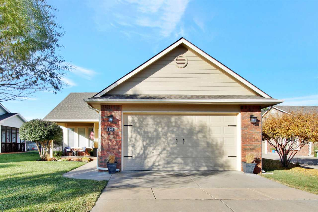 Don't miss out on this well maintained, no-step patio home in West Wichita!  This home in located in