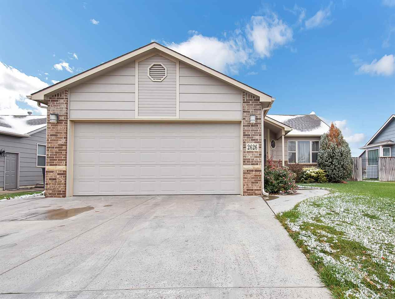 Sharp 3 bedrooms, 2 bath, 2 car garage ranch home in Park City.  Updated flooring in kitchen and din