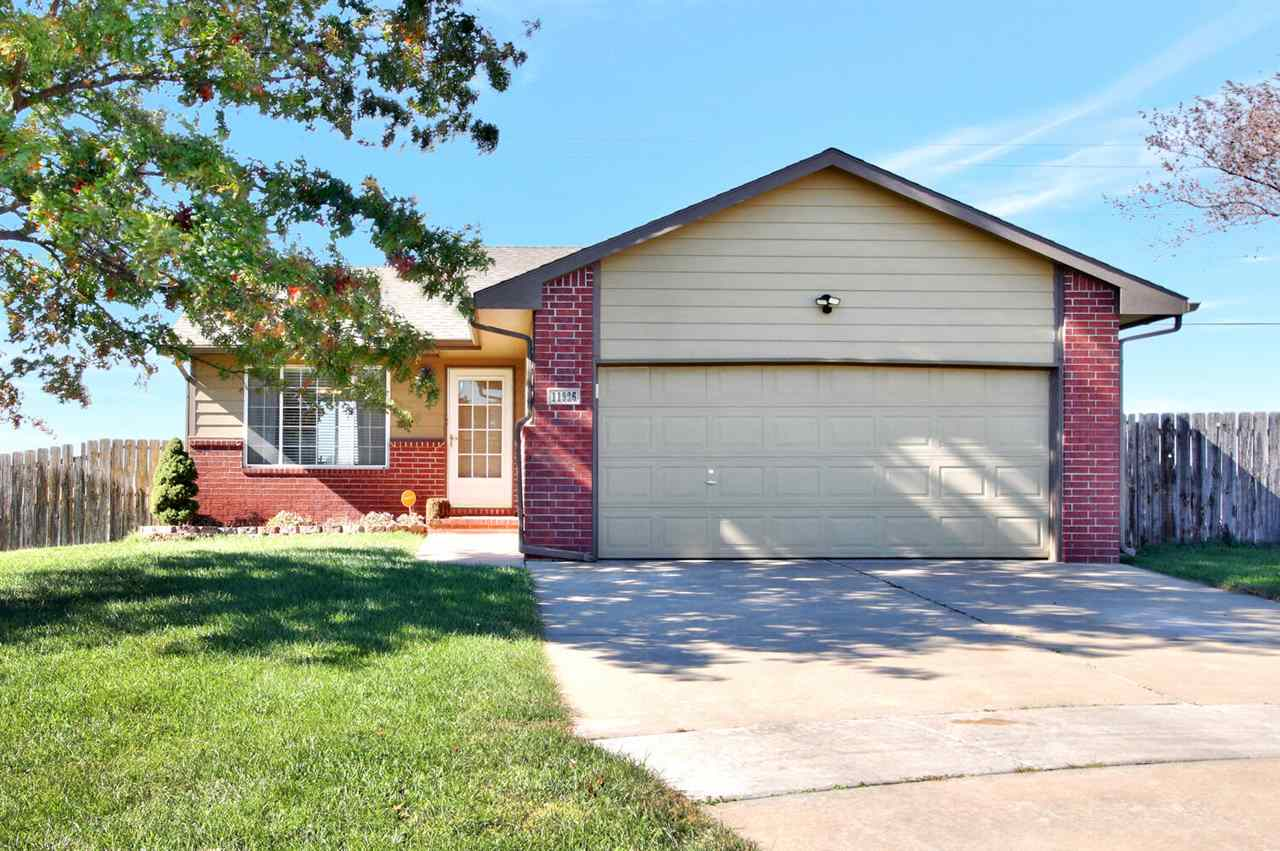 Perfect 3 bedroom, 2 bath, 2 car garage home in the home in the Maize school dist.