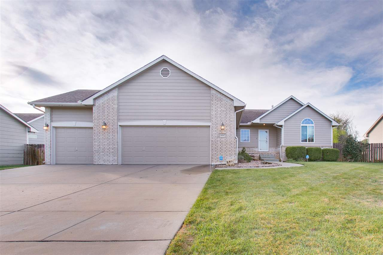 Welcome home! Come take a look at this 5 bedroom, 3 bath beauty in Maize district. Plenty of room an