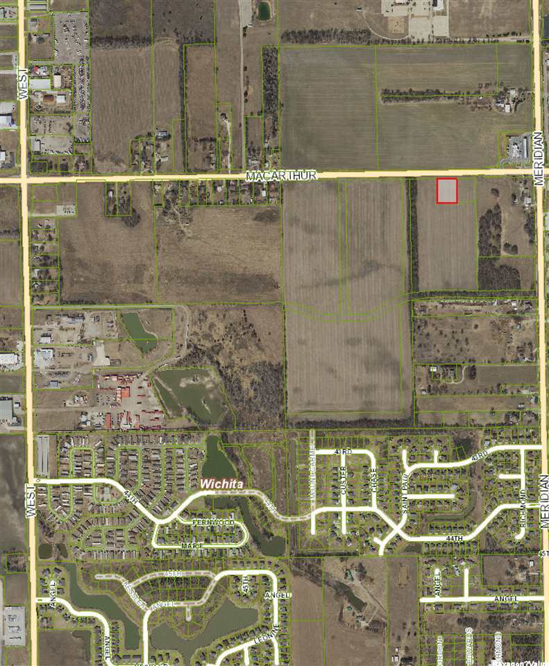 For Sale: Lot 4, Block B  MacArthur, Wichita KS