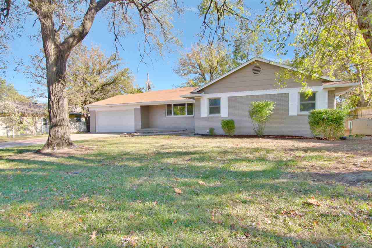 Very rare offering in Bel Aire.  Wonderful neighborhood and a great ranch home with plenty of living
